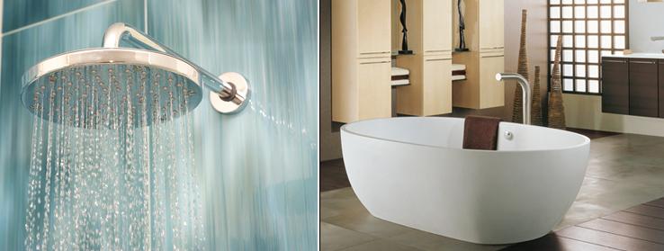 Salle de bain douche ou baignoire l 39 atelier de l 39 habitat - Baignoire ou douche pour vendre ...