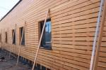 Bardage en bois pour l'isolation extérieure