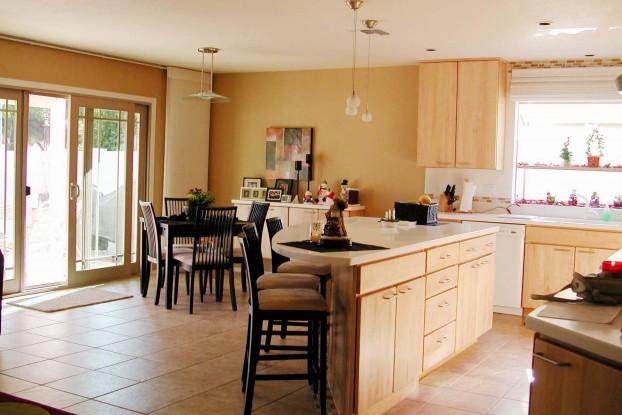 Avantages et invoncénients une cuisine ouverte