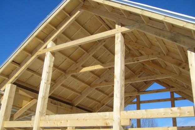 charpente habitat bois