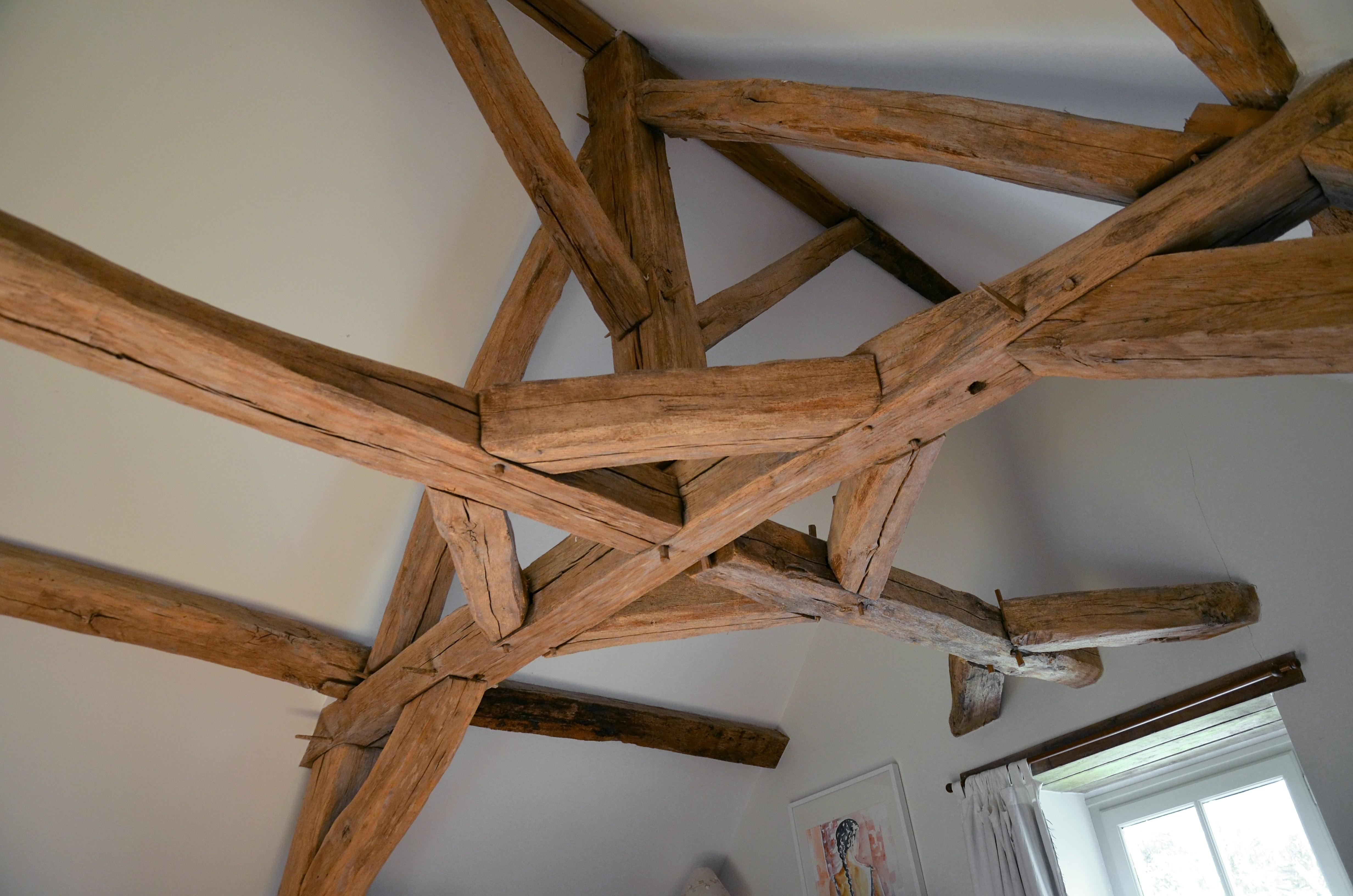 charpente en bois - atelier de l'habitat