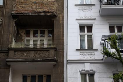 altes wohnhaus detail