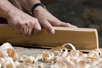 Carpenter's hands