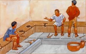 Des latrines romaines