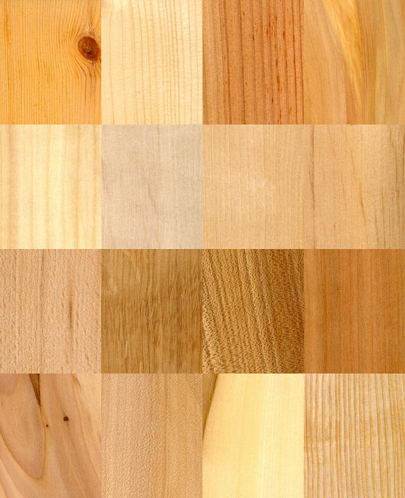 Des essences de bois