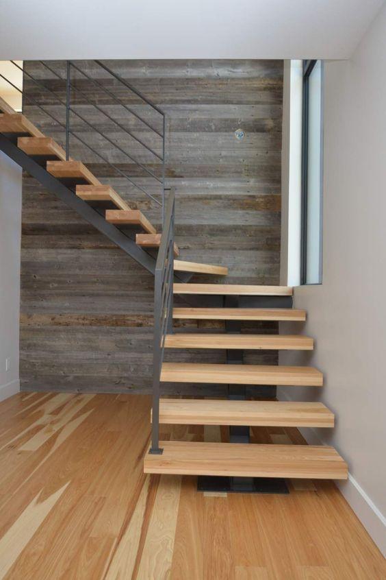 escalier en bois atelier de l'habitat