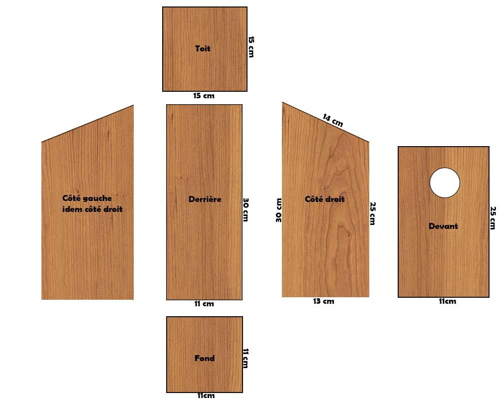 schéma nichoir atelier de l'habitat