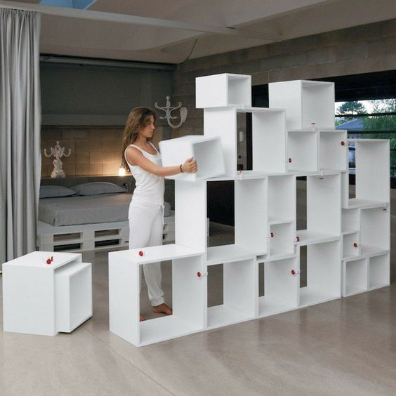 Bibliothèque modulable cube ADH